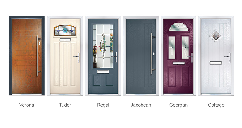 Six New Composite Door Styles