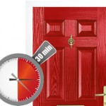 FD30 fire rated composite door