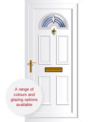 uPVC doors - energy efficient and secure