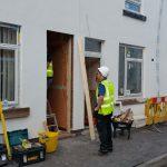 Vista Panels on DIY SOS - Installing Doors