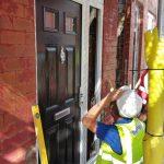 Vista Panels on DIY SOS - Door Fitting