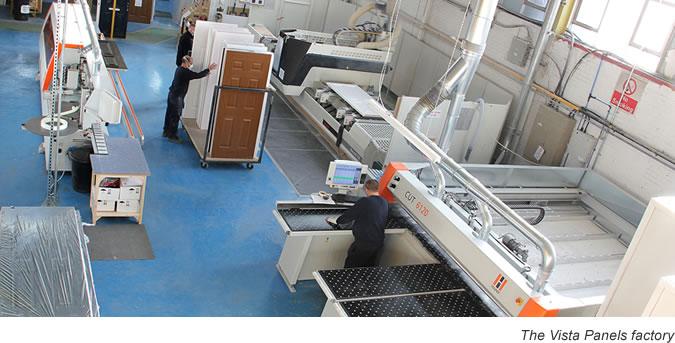 The Vista Panels uPVC and composite door factory