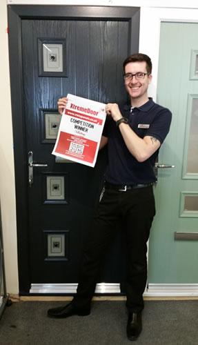 XtremeDoor composite door competition winners UK Building Plastics