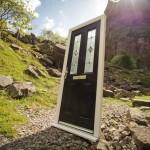 Xtreme door composite in outdoor photoshoot