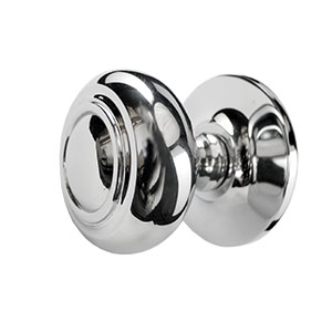 Chrome Internal Round Knob
