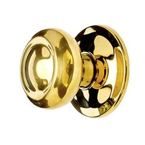 Gold Internal Round Knob