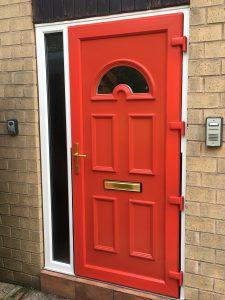 uPVC flood door