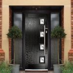 Jet black Xtreme composite door