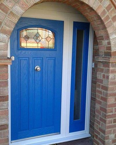 Blue composite xtremedoor