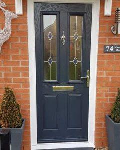 Composite grey xtreme door