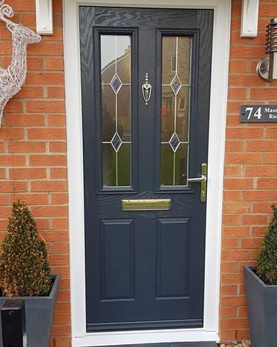 Composite grey xtreme door