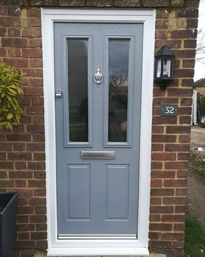 Grey composite xtremedoor