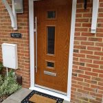 Irish oak xtreme composite door