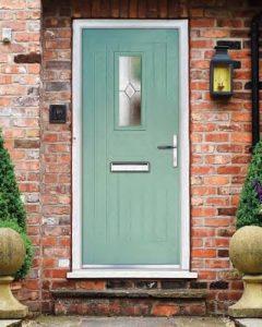 Green xtreme composite door