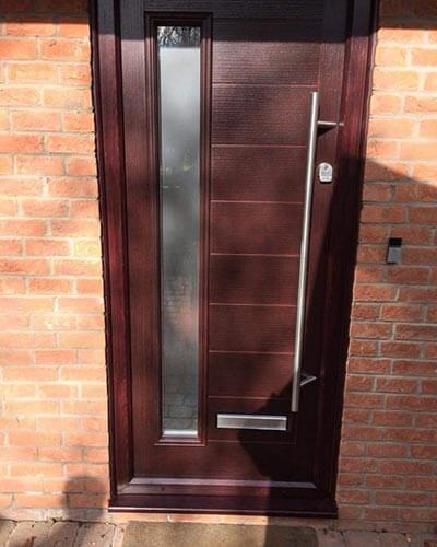 Xtreme composite door brown