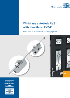 AV2-E lock brochure cover