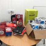 PPE donations from Vista Panels