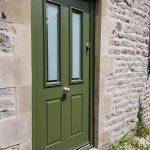 Crocodile Green front door