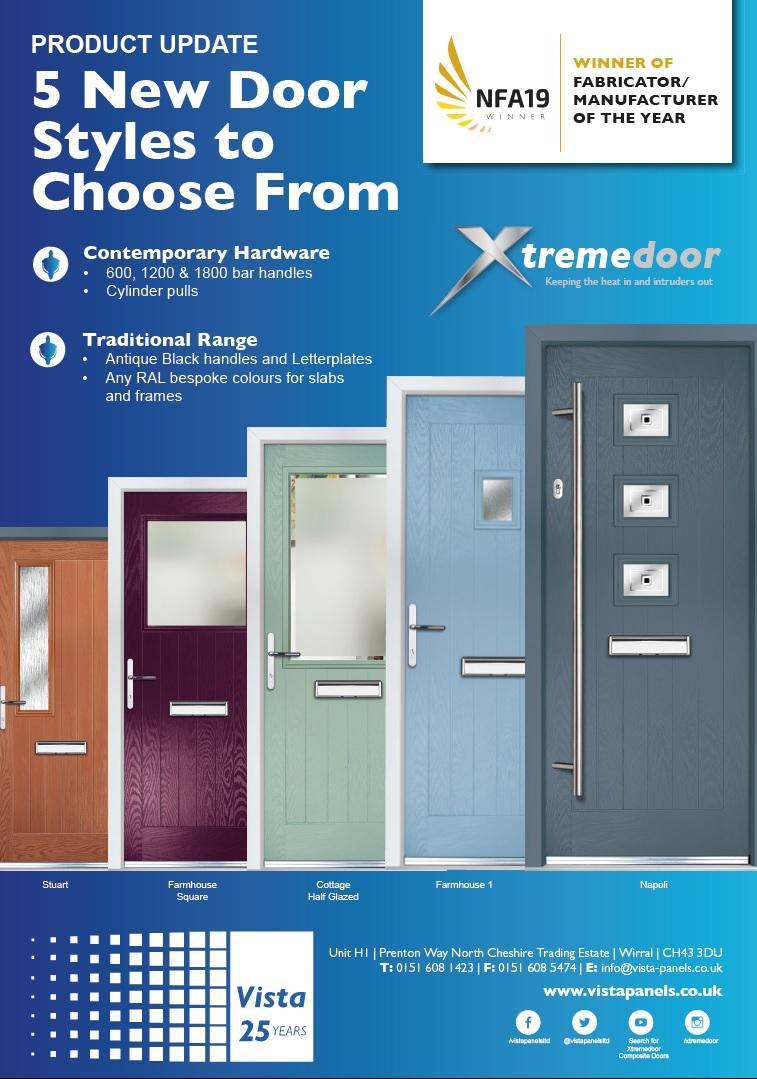New Door Styles graphic