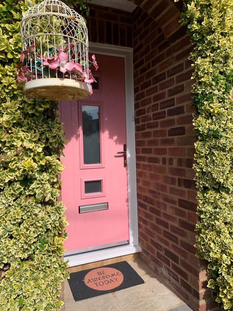 RAL 3015 Jacobean door