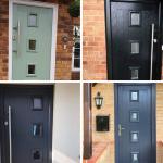 Cottage style composite door designs